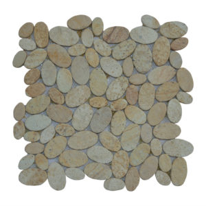 Mosaic Oval Yellow Sand 30×30