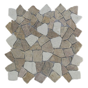 Mosaic Mix Yucatan Brown – Cream 30×30 Y