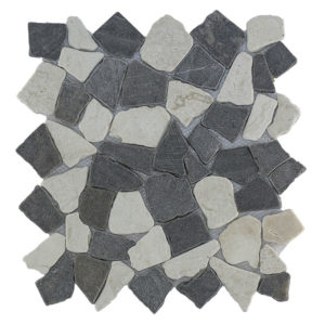 Mosaic Mix Gray – Cream 30×30 Y