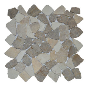 Mosaic Onyx – Sunset Brown – Cream 30×30 Y