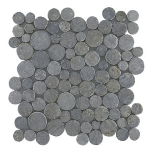 Mosaic Coin Light Gray 30×30