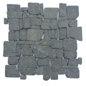 Mosaic Random Black Gray 30×30