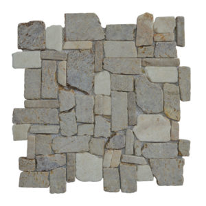 Mosaic Random Mix Onyx – Sunset Brown 30×30