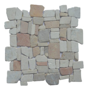 Mosaic Random Mix Onyx – Cream – Yucatan Brown 30×30
