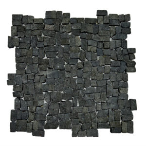 Mosaic Random Small Black Gray 30×30