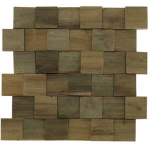 Wood Panels13 5×5 30x30x1 -2,5 Smooth Up Down
