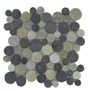 Mosaic Coin Mix Gray – Light Gray 30×30