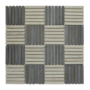 Parquet 1 X 7.3 Mix Cream – Grey Y