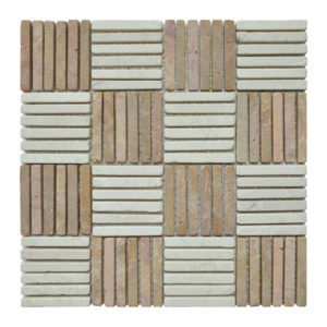 Parquet 1 X 7.3 Mix Cream – Terracota Y
