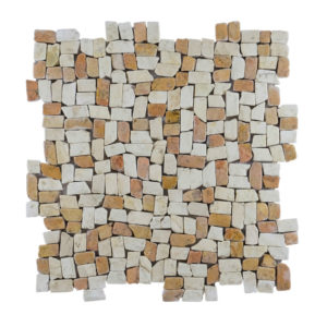 Mosaic Random Small Mix Yucatan Brown – Cream 30×30