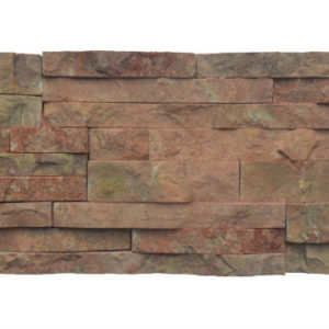 Wall Cladding07 Dark Terra Cotta (red) 15X50