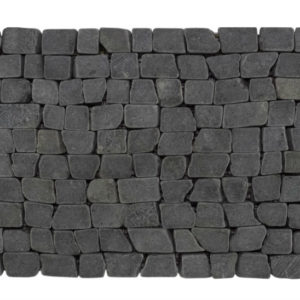 Brick Mosaic Gray Tumble 30×15 Y