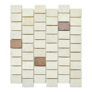 Parquet 3.5 X 4.8 Mix Cream – Terracota Y