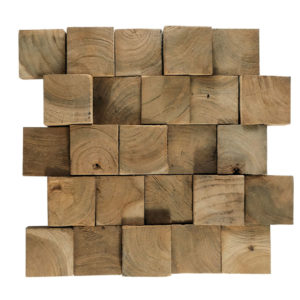 Wood Panels17 6×6 30x30x1 -2,5 Smooth Up Down