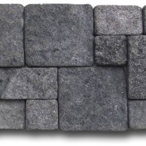 Wall Cladding06 Gray Black Lava 20X50