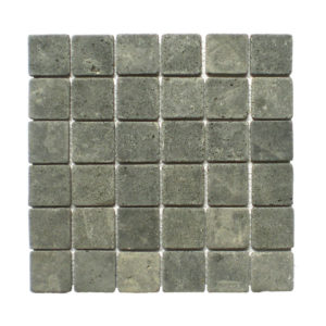 Parquet 5×5 Black Gray Tumble 30×30 S