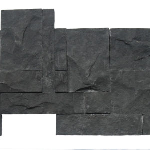 Wall Cladding02 Gray Black Andesite 25×50