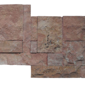Wall Cladding02 Dark Terra Cotta (red) 25×50