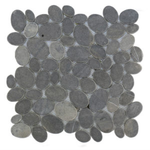 Mosaic Oval Gray 30×30