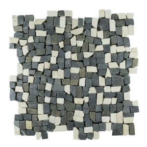 Mosaic Random Small Mix Gray – Cream 30×30