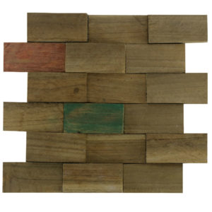 Wood Panels12 5×10 30x30x1 -2,5 Colour Up Down