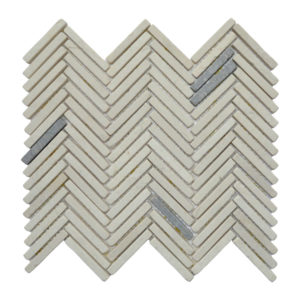 Parquet 1 X 7.3 Mix Cream – Light Grey Y