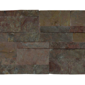 Wall Cladding04 Dark Terra Cotta (red) 20×50