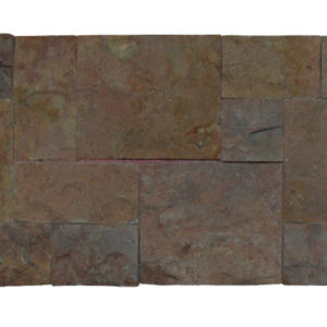 Wall Cladding06 Dark Terra Cotta (red) 20X50