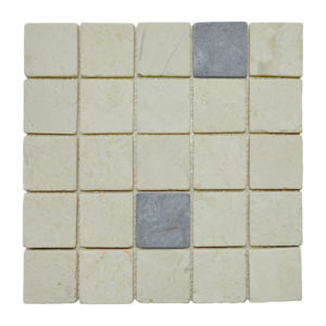 Parquet 5.8 X 5.8 Mix Cream – Light Grey Y
