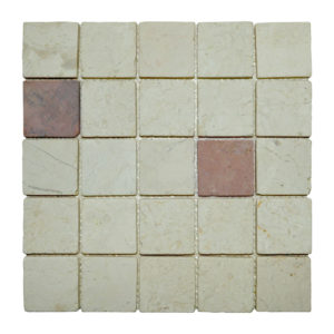 Parquet 5.8 X 5.8 Mix Cream – Terracota Y