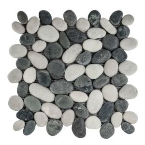 Pebble Mix Swarthy Black And White 30×30 S