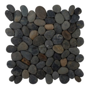 Pebble Greeny Swarthy Black 30×30 S