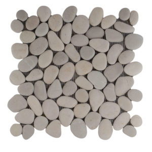 Pebble Mix Asian Tan And White 30×30 S