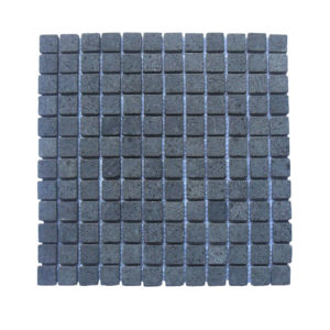 Parquet 2.4×2.4 Black Gray Tumble 30×30 Y
