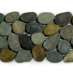 Pebble Greeny Swarthy Black 10×30 Border S