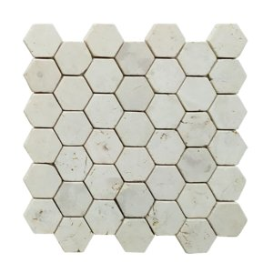 HEXAGON  Cream 30×30 Y