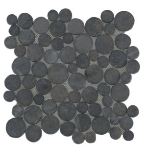 Mosaic Coin Gray 30×30
