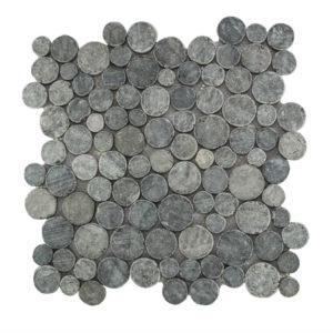 Mosaic Coin Gray Blue 30×30