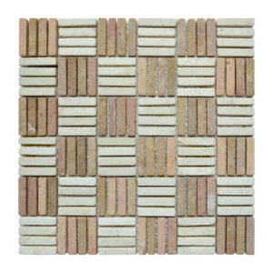 Parquet 1 X 4.8 Mix Cream – Terracota Y