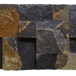 France Style Black Slate Wall Cladding 47A 20x40x1,5-2,5