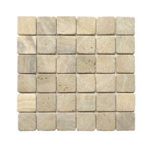 Parquet 5×5 Sunset Brown Tumble 30×30 Y