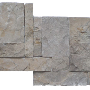Wall Cladding02 Pastel Gray (light Yellow) 25×50